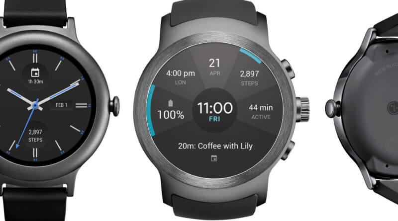 LG Sport and Style Smartwatches with Google
