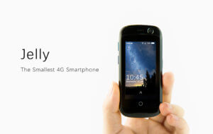 Jelly Worlds Smallest 4G Smartphone