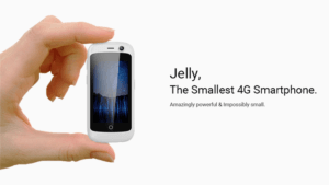 Jelly Worlds Smallest Smartphone