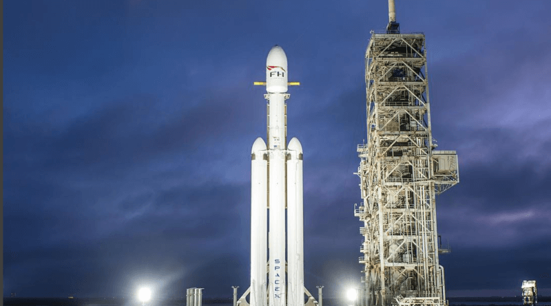 Falcon Heavy ready to launch