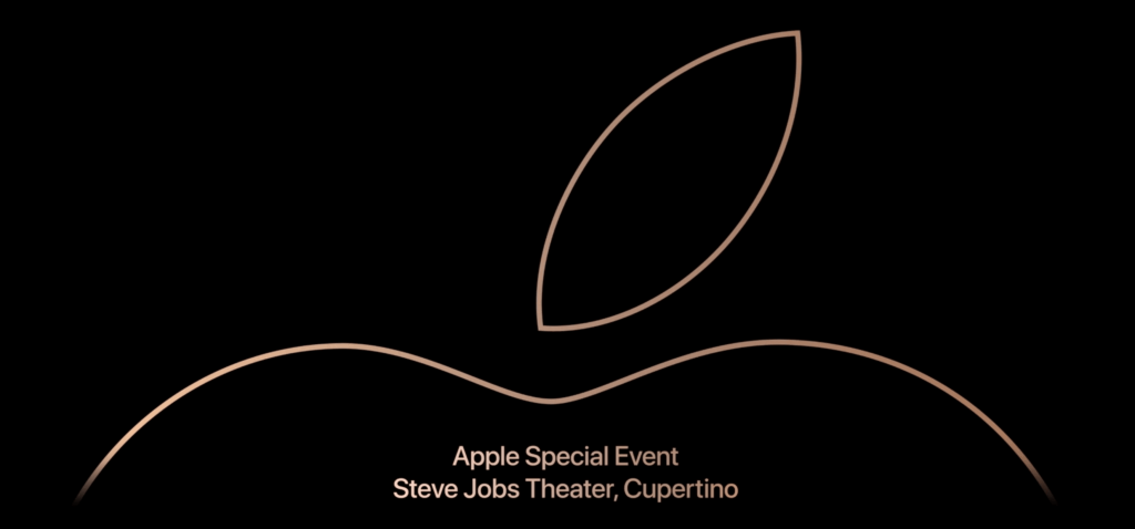 apple keynote september 2018 date