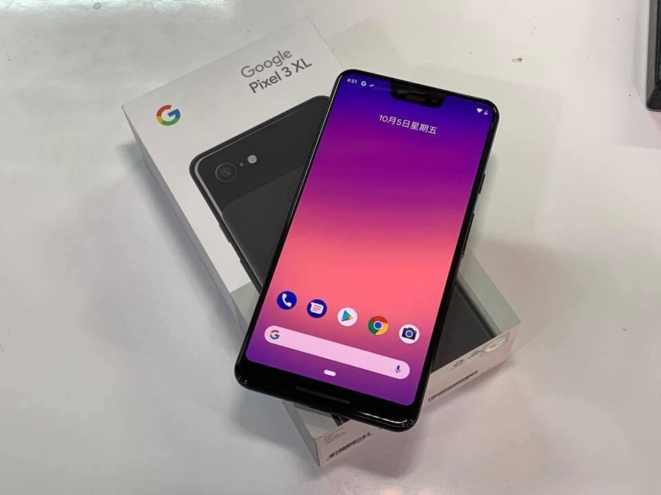 Google Pixel 3 Front Leak
