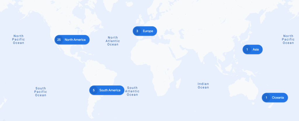 Google Environmental Insights Explorer cities