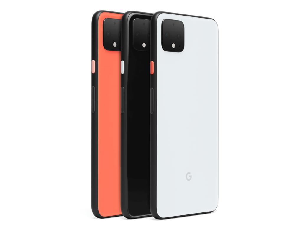 Pixel 4 colours